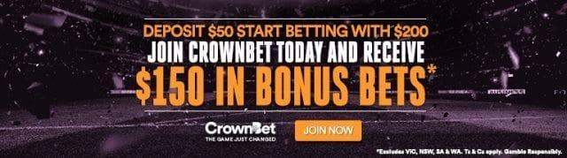 crownbet 150 bonus