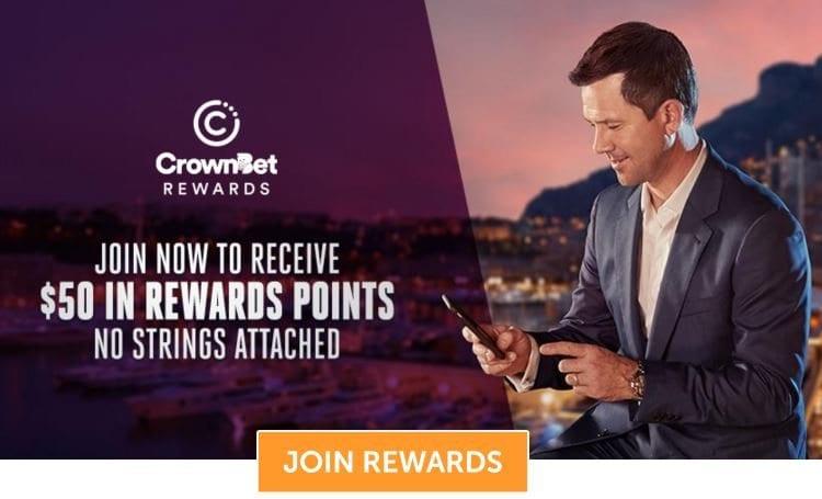 no deposit free bet with crownbet