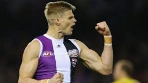 nick riewoldt in saints win over richmond