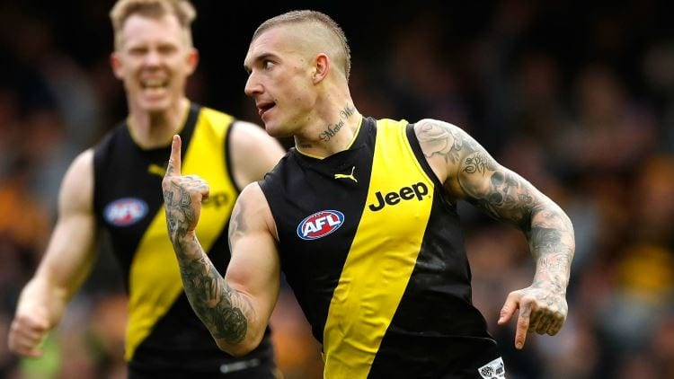 2017 brownlow medal - dustin martin