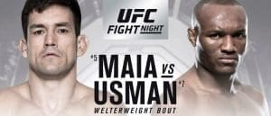 ufc fight night 129 maia vs usman
