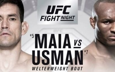 UFC Fight Night 129: Maia vs. Usman Predictions & Betting Tips