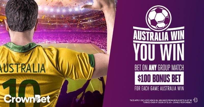 crownbet world cup bonus offer