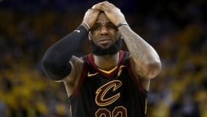 lebron james reaction to jr smith play