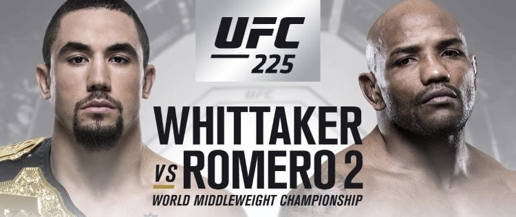 UFC 225: Whittaker vs. Romero 2 Predictions & Betting Tips