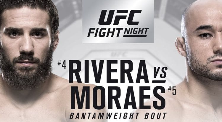 UFC Fight Night 131: Rivera vs. Moraes Predictions & Betting Tips