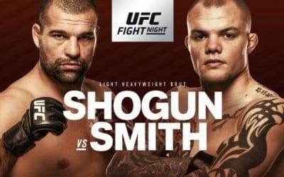 UFC Fight Night 134: Shogun vs. Smith Predictions & Betting Tips