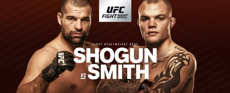 UFC Fight Night 134: Shogun vs. Smith Predictions & Betting Tips