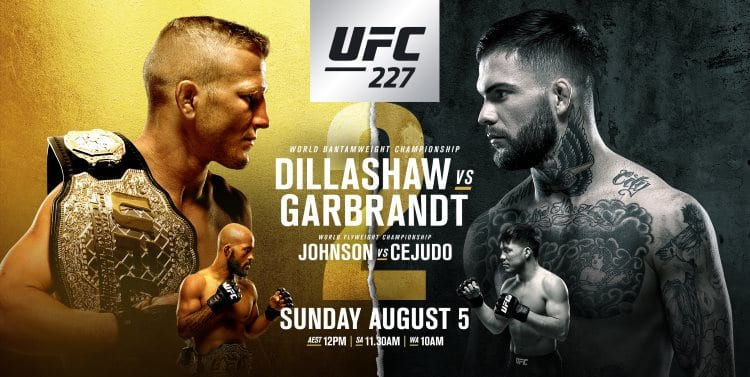 UFC 227: Dillashaw vs Garbrandt 2 Predictions & Betting Tips