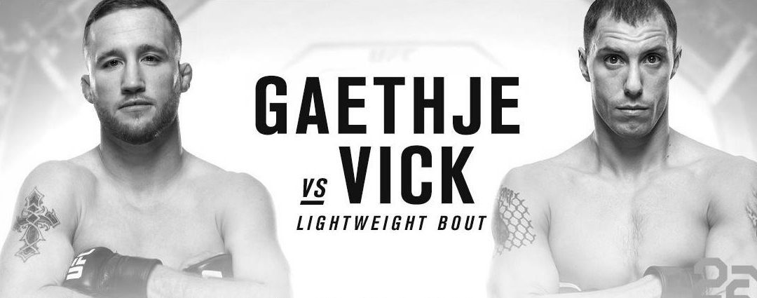 UFC Fight Night 135: Gaethje vs. Vick Predictions & Betting Tips