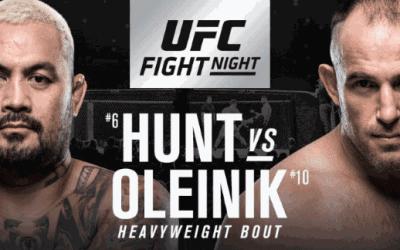 UFC Fight Night 136: Hunt vs. Oliynyk Predictions & Betting Tips