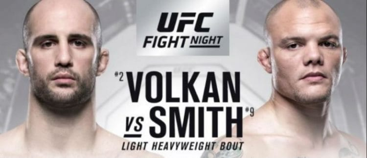 UFC Fight Night 138: Oezdemir vs. Smith Predictions & Betting Tips