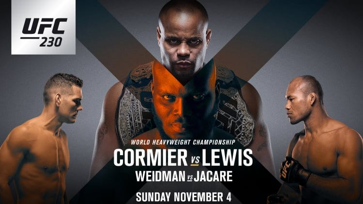 UFC 230: Cormier vs. Lewis Predictions & Betting Tips
