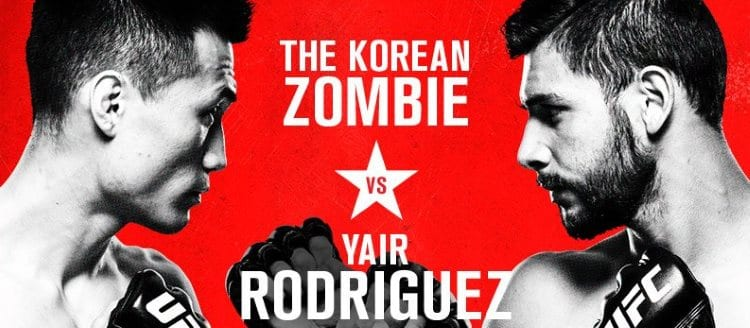 UFC Fight Night: Korean Zombie vs. Rodríguez Predictions & Betting Tips