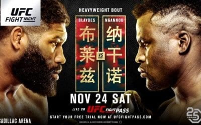 UFC Fight Night 141: Ngannou vs. Blaydes Predictions & Betting Tips