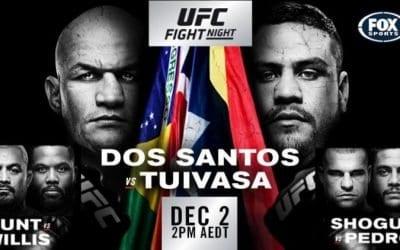 UFC Fight Night 142: Dos Santos vs. Tuivasa Predictions & Betting Tips