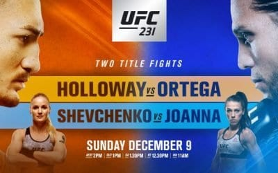 UFC 231: Holloway vs. Ortega Predictions & Betting Tips