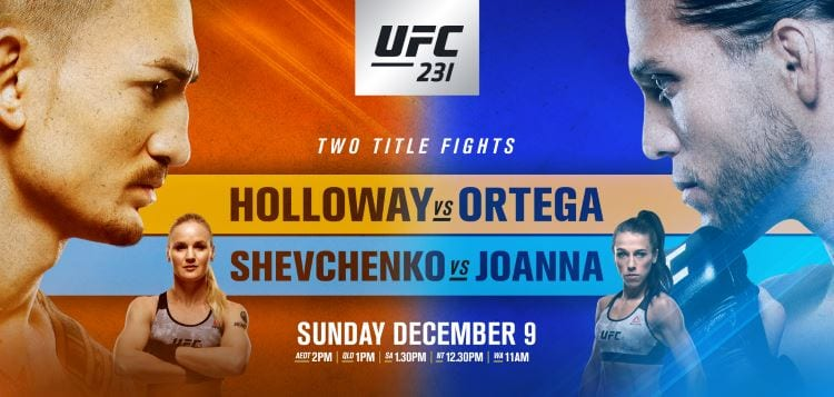 UFC 231: Holloway vs. Ortega Predictions & Betting Tips