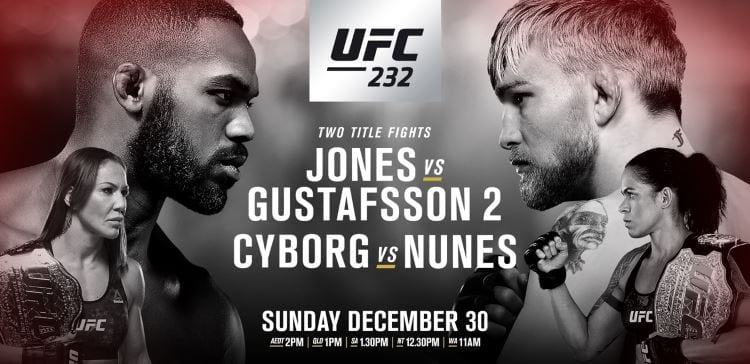 UFC 232: Jones vs. Gustafsson 2 Predictions & Betting Tips