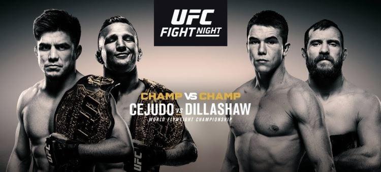 UFC Fight Night 143: Cejudo vs. Dillashaw Predictions & Betting Tips