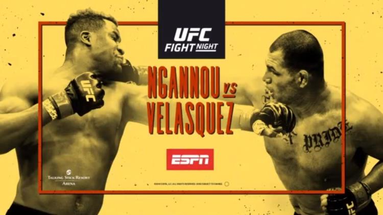 UFC on ESPN: Ngannou vs. Velasquez