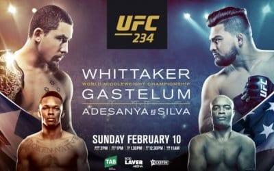 UFC 234: Whittaker vs. Gastelum Predictions & Betting Tips