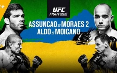 UFC Fight Night 144: Assuncao vs. Moraes 2 Predictions & Betting Tips