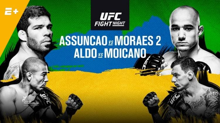 UFC Fight Night 144: Assuncao vs. Moraes 2 Predictions & Betting Tips