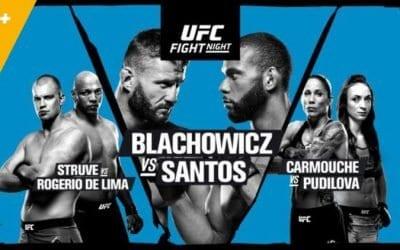 UFC Fight Night 145: Błachowicz vs. Santos Predictions & Betting Tips