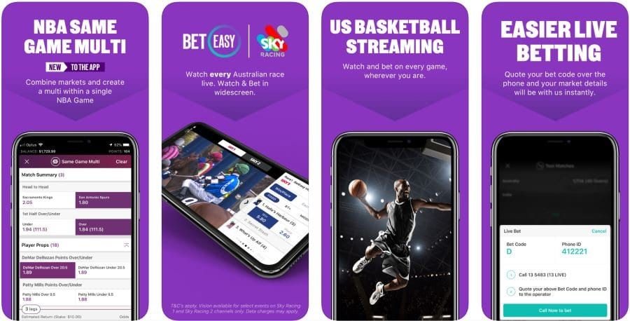 beteasy mobile betting app