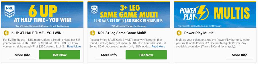 sportsbet bonus promotions