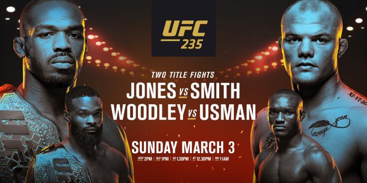 UFC 235: Jones vs. Smith Predictions & Betting Tips