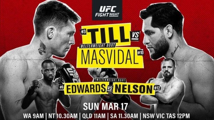 UFC Fight Night 147: Till vs. Masvidal Predictions & Betting Tips