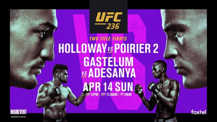 UFC 236: Holloway vs. Poirier 2 Predictions & Betting Tips