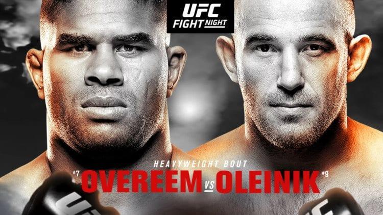 UFC Fight Night 149: Overeem vs. Oleinik Predictions & Betting Tips