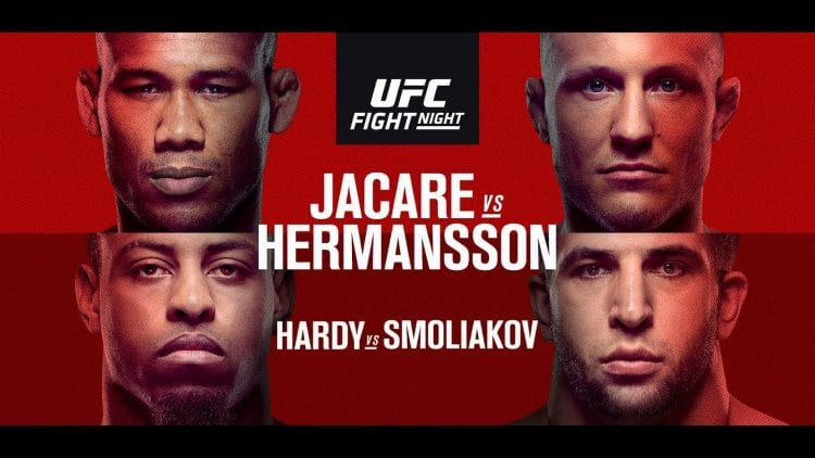 UFC Fight Night: Jacaré vs. Hermansson Predictions & Betting Tips