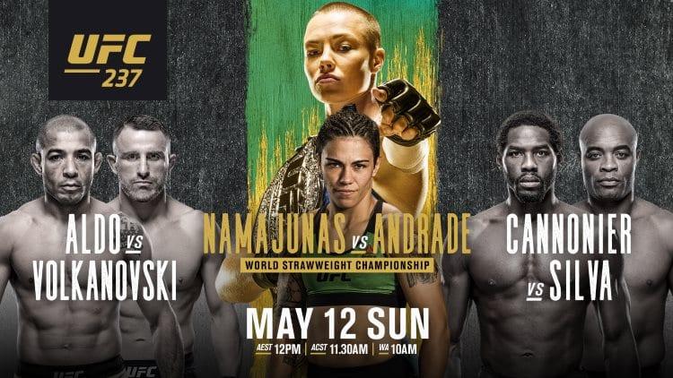 UFC 237: Namajunas vs. Andrade Predictions & Betting Tips