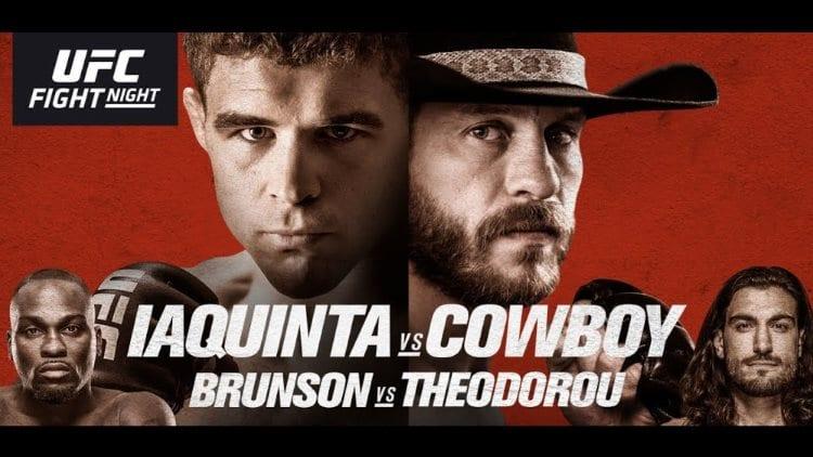 UFC Fight Night 151: Iaquinta vs. Cowboy Predictions & Betting Tips