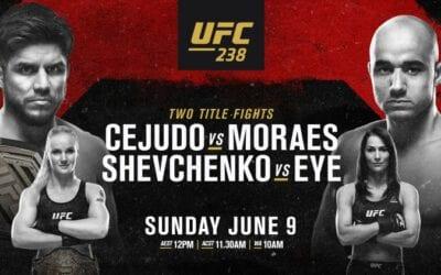 UFC 238: Cejudo vs. Moraes Predictions & Betting Tips