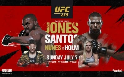 UFC 239: Jones Vs. Santos Predictions & Betting Tips