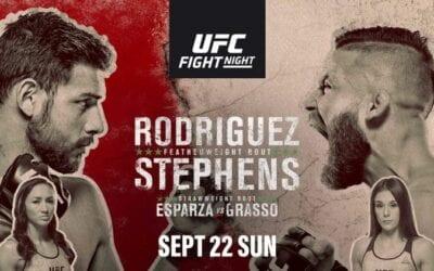 UFC Fight Night 159: Rodríguez vs. Stephens Predictions & Betting Tips