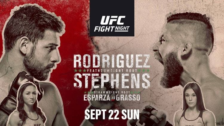 UFC Fight Night 159: Rodríguez vs. Stephens Predictions & Betting Tips