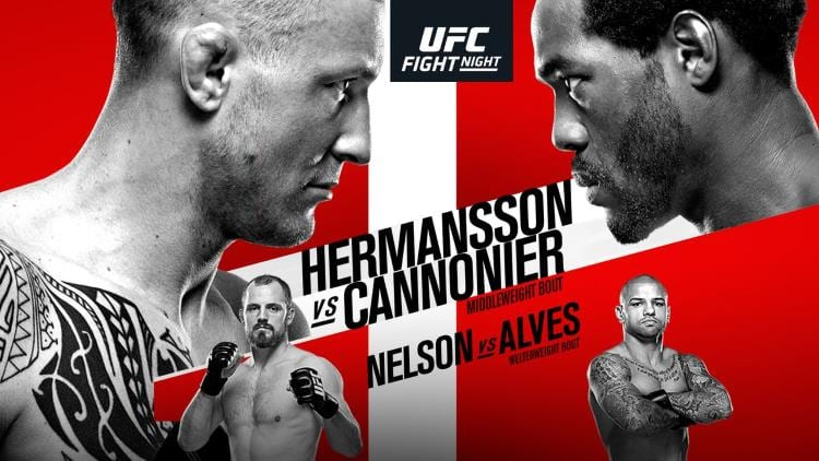 UFC Fight Night 160: Hermansson vs. Cannonier Predictions & Betting Tips