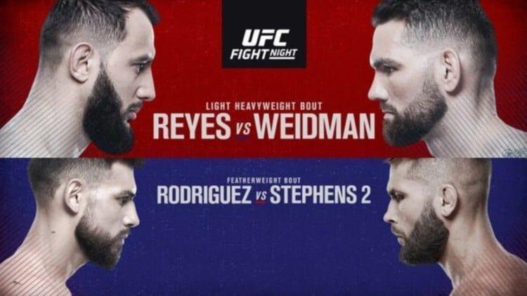 UFC on ESPN 6: Reyes vs. Weidman Predictions & Betting Tips