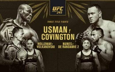 UFC 245: Usman vs. Covington Predictions & Betting Tips