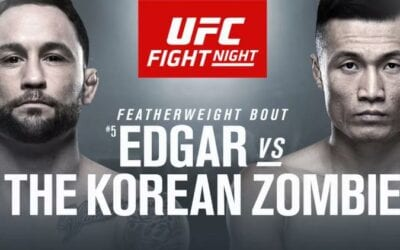 UFC Fight Night: Edgar vs. The Korean Zombie Predictions & Betting Tips