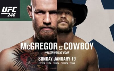 UFC 246: McGregor vs. Cerrone Predictions & Betting Tips