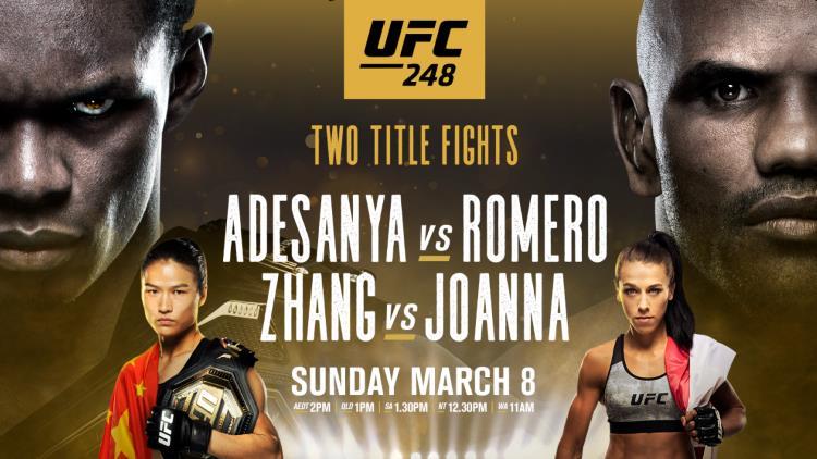 UFC 248: Adesanya vs. Romero Predictions & Betting Tips