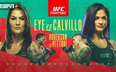 UFC on ESPN 10: Eye vs. Calvillo Predictions & Betting Tips