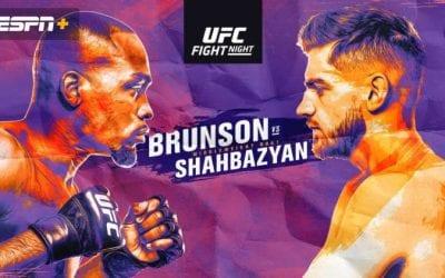 UFC Fight Night: Brunson vs. Shahbazyan Predictions & Betting Tips